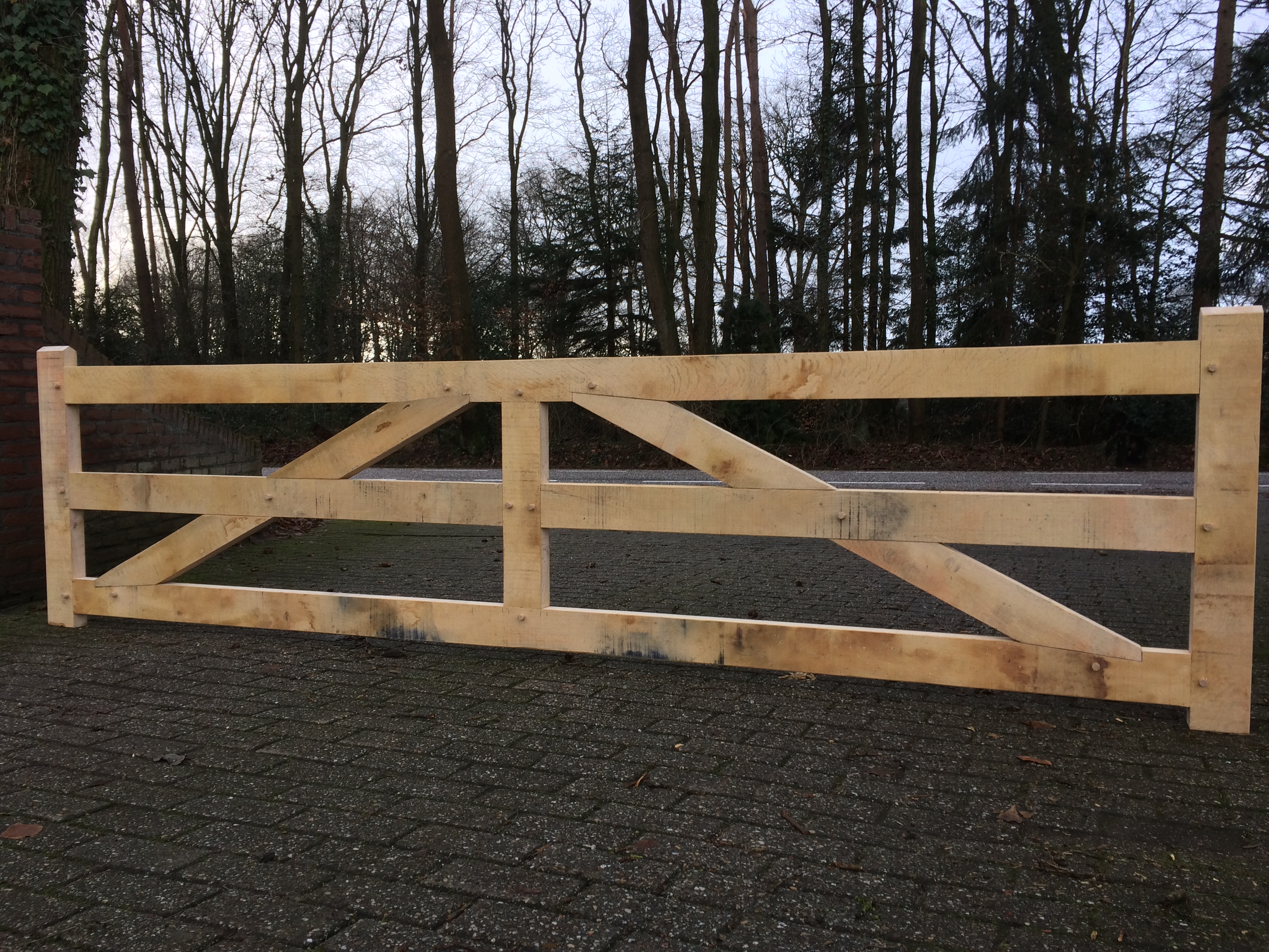 Houthandel Ensink hekken en poorten